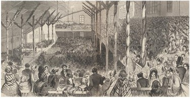 1860 Republican Convention Wigwam