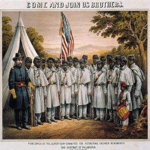 Conscription of freedmen