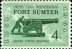 Fort Sumter Stamp