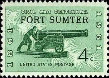 Fort Sumter Stamp