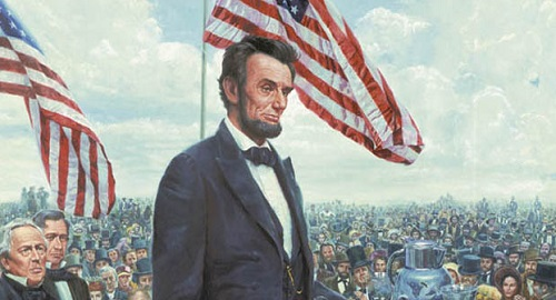 Miraculous The Gettysburg Address Abraham Lincoln Historical Society Short Hairstyles Gunalazisus