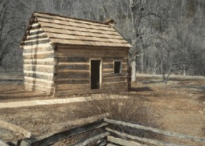 Knob Creek cabin