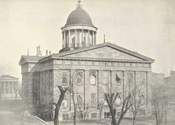 Old State Capitol in Springfield