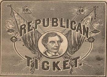Republican ticket 1860 presidential elections