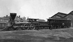 US military railroad from Civil War