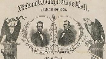 Inauguration Ball 1865
