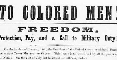 Civil War freedom
